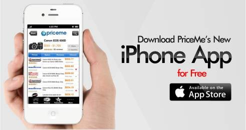 PriceMe iPhone App