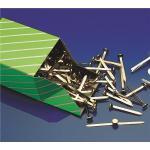 Paper Fastener Brass 19mm S3 Bx100