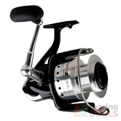 Daiwa opus bull 6000 heavy duty spinning reel nz prices for Heavy duty fishing rods