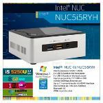 Intel NUC Mini PC I5-5250U 4GB 120GB SSD m-HDM WKSPB3045IM