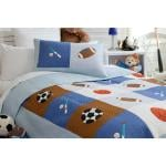 Kovers 4 Kids Sports Night Coverlet Set
