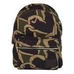 PS By Paul Smith Khaki Camouflage Canvas Heart Backpack