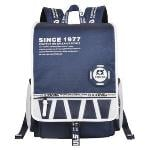 Sinpaid GL8-1 15.6 Laptop Backpack Travel Bag (Dark Blue)(Export)(Intl)