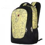 SWISSGEAR Swiss Army knife backpack 14 inch notebook computer bag man Backpack(Yellow)(Export)