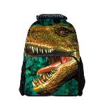 3D Animal Style Multi-purpose Schoolbag Outdoor Travel School Bag Backpack Tablet Laptop Carry Bags Dinosaur (EXPORT) - INTL