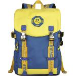 Huolala SINPAID Korean Style Laptop Backpack (Blue and Yellow)(Export)