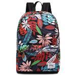 Leaper Cool Style School Backpacks Laptop Backpack Should Bag Travel Bag(Leaf)(Export)