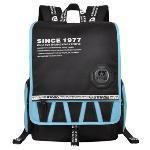 Sinpaid GL8-1 Casual Style Backpack 15.6\'\' Laptops Backpack Waterproof Oxford Cloth Backpack Black (Intl)(Export)(Intl)