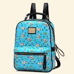 Preppy Canvas Unisex Retro Messenger Bag Daypack (Beige) (EXPORT)