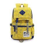 Kaukko Laptop Casual Backpack (Yellow)(Export)(Intl)