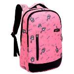 Cool Canvas Large School Book bag Laptop Backpack Daypack (Pink)(Export)(Intl)