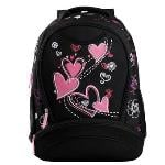Huolala VEEVAN $12.99 New Arrival Women Backpak Printing Water Bottle Pocket Satchel School For Girl Book Bag Student-Purple