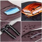 Kingsons Men and women Backpack Fashion Bag Travel Backpack for 15.6 Inch Laptop (Coffe) - Intl
