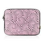 9.7 inch Portable Soft Waterproof Laptop Bag (Pink)