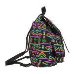 Retro Women Travel Canvas Backpack Rucksack Shoulder School Bag Satchel Black(Export)(Intl)
