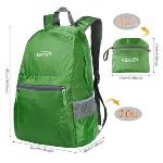 G4Free Ultra Lightweight Packable Backpack Hiking Daypack ,Handy Foldable Camping Outdoor Backpack (Army Green) (EXPORT)