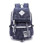 Kaukko Laptop Casual Backpack (sapphire)(Export)(Intl)