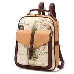 Korean Stylish Zipper Cross-body Messenger Bags Handbag with Shoulder Strap (Orange) (EXPORT)