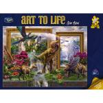 Puzzle Art to Life 1000 Piece
