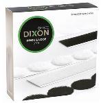 Dixon Hook & Loop 22mm Velcro White Spots - 225 Pack CX02057
