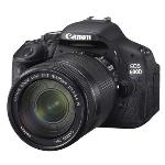 Canon EOS 600D Digital Camera And Twin Lens Kit with 18-55IS & 55-250IS Lens 600DTKIS