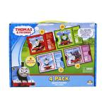 Thomas the Tank Engine 4 Puzzles in Carry Box