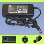 HP 90W AC Adapter 19V 4.74A (Adapter Only No Power Cord) Black Big Plug with Pin 7.4*5.0*12.5