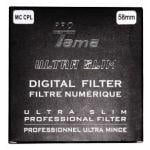 ProTama Slim MC CPL Filter 58mm