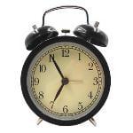 IKEA DEKAD Classic Alarm clock (Black)