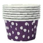 100X Cupcake Wrapper Paper Cake Case Baking Cups Liner Muffin Purple