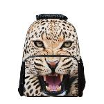 3D Animal Style Multi-purpose Schoolbag Outdoor Travel School Bag Backpack Tablet Laptop Carry Bags Tiger (EXPORT) - INTL