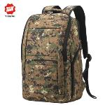 Tigernu Waterproof Anti-theft Four-tooth zipper Shcool College Causal 17 Inches Laptop backpack for 12.1-17 Inches Laptop T-B3152(Army green) - Intl