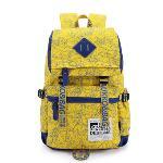 Kaukko Laptop Casual Backpack (Yellow)(Export)(Intl)