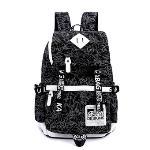 Kaukko Laptop Casual Backpack (Black)(Export)(Intl)