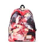 Fashion Poly College School Laptop Backpack(Export)