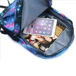 Pokemon GO Black Luminous Backpack Shoulders Bag Laptop Bag SchoolBag black(Export)
