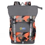 Sinpaid HB-25 Casual Style Backpack 15.6\'\' Laptops Backpack Waterproof Oxford Cloth Backpack Orange (Intl)(Export)(Intl)