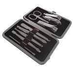 Manicure Pedicure 9 Piece Set with Case