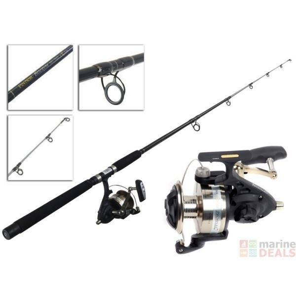 Fin nor offshore 8500 stick bait rod and reel combo nz for Tuna fishing rod and reel combos