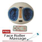 Shiatsu Foot Massager FREE Face Roller Massager